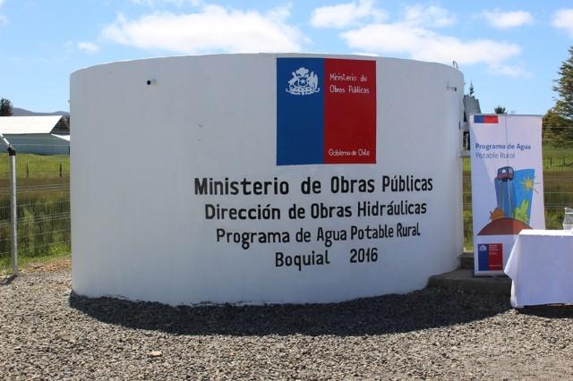 Ministerio de obras p blicas regi n de los rios for Estanque de agua potable easy