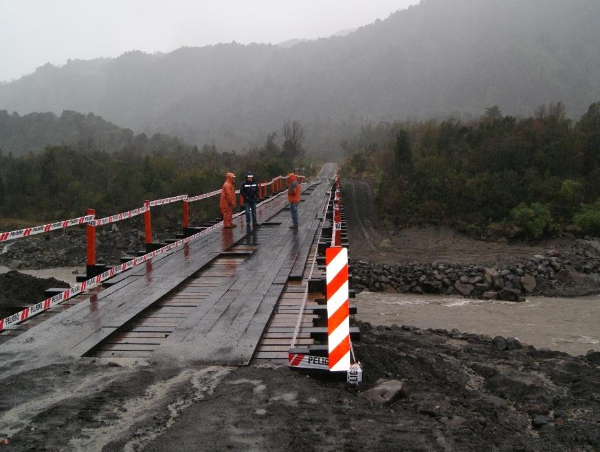 MOP habilita tránsito vehicular en reconstruido Puente Juez Soto Vío