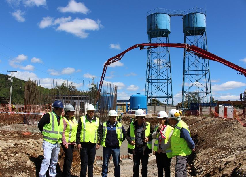 Con trabajos de construcción de estanques, sigue adelante ampliación del APR de Malalhue